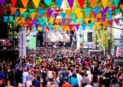 Carnaval en Av. de Mayo