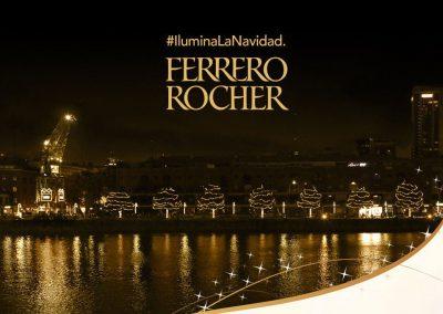 Ferrero Rocher ilumina Navidad